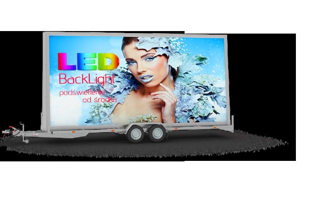 Laweta Reklamowa Backlight 600x300cm