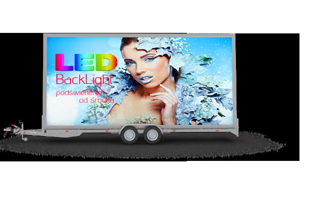 Mobil reklamowy backlight